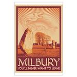 Milbury Large Poster
