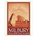 Milbury Small Poster
