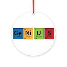 genius-clr.png Ornament (Round)