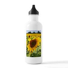 Side Sunflower Water Bottle