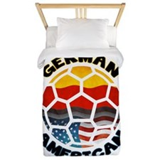 German American Football Soccer Twin Duvet