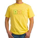 NERD Yellow T-Shirt
