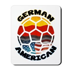 German American Football Soccer Mousepad
