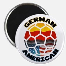 German American Football Soccer Magnet