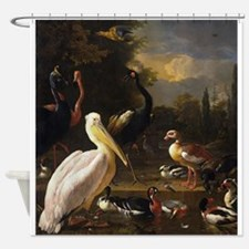 Fowl Play Shower Curtain