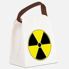 Radiation Symbol Canvas Lunch Bag