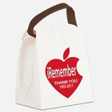iremember heart.png Canvas Lunch Bag