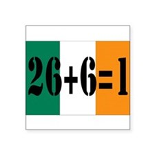 "Irish pride Square Sticker 3"" x 3"""