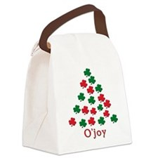 irish ojoy(blk).png Canvas Lunch Bag