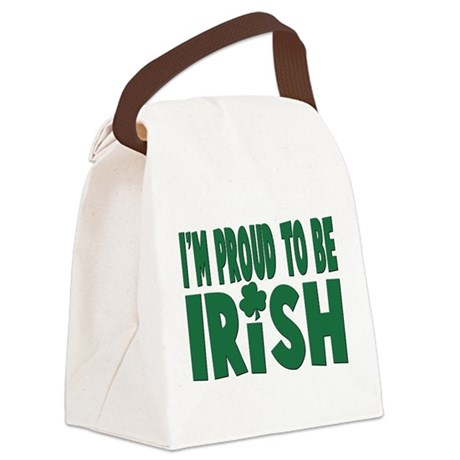 proud to be irish.png Canvas Lunch Bag
