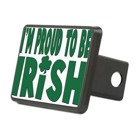 proud to be irish.png Rectangular Hitch Cover