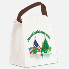 made in ireland.png Canvas Lunch Bag