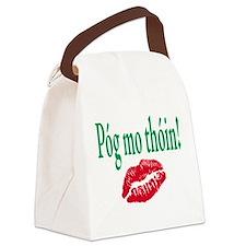Kiss My Irish ASS Canvas Lunch Bag
