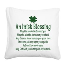 an old irish blessing.png Square Canvas Pillow
