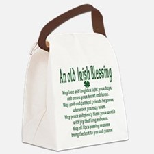 an old irish blessing.png Canvas Lunch Bag