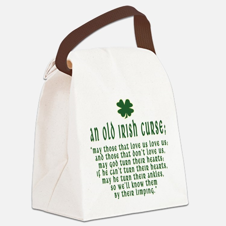an old irish curse T-Shirt.png Canvas Lunch Bag