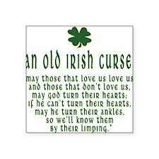 "an old irish curse T-Shirt.png Square Sticker 3"" x"