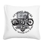 genuine riders.png Square Canvas Pillow