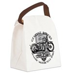 genuine riders.png Canvas Lunch Bag