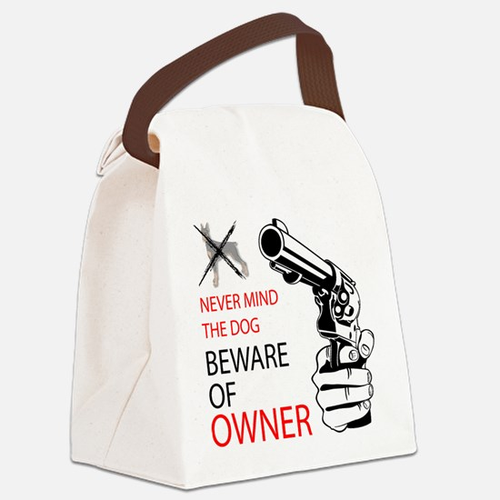 guns and daughters.png Canvas Lunch Bag