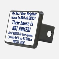Gun control Hitch Cover