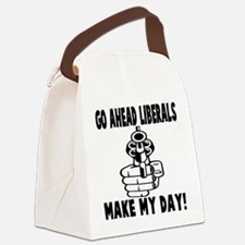 Gun control Canvas Lunch Bag