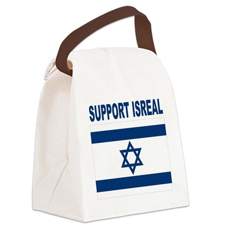 Peace for Isreal Canvas Lunch Bag