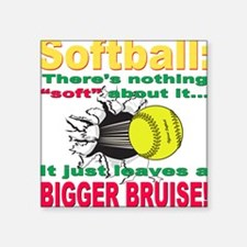 """bigger bruise.png Square Sticker 3"""" x 3"""""""