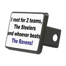 Ravens football Hitch Cover