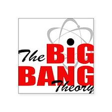 "Big bang theory Square Sticker 3"" x 3"""