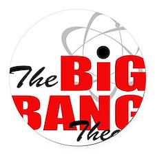 Big bang theory Round Car Magnet