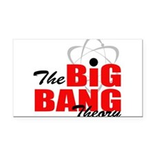 Big bang theory Rectangle Car Magnet