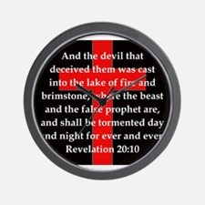 Revelation 20-10 Wall Clock
