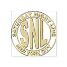 """snl d.png Square Sticker 3"""" x 3"""""""