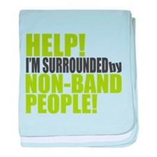 Non Band People baby blanket