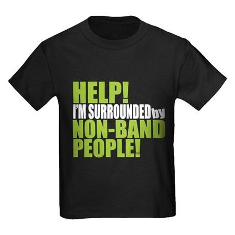 Non Band People Kids Dark T-Shirt