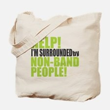 Non Band People Tote Bag