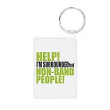 Non Band People Aluminum Photo Keychain