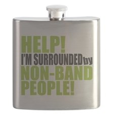 Non Band People Flask