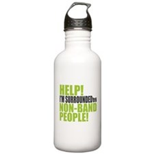 Non Band People Water Bottle