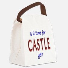 Time For Castle Canvas Lunch Bag
