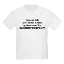 The Size Of His Carbon Footprint T-Shirt