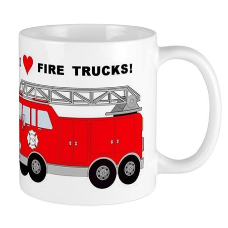 I Heart Fire Trucks! Mug