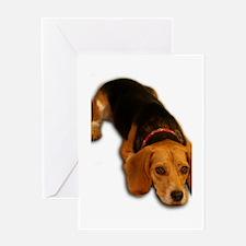 Beagle 3 Greeting Card