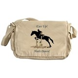 Equestrian Messenger Bag