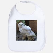 Cute Snowy owl Bib
