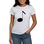 Quaver Symbol Music Note Women's T-Shirt