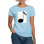 Quaver Symbol Music Note Women's Pink T-Shirt