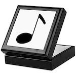 Quaver Symbol Music Note Keepsake Box