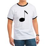 Quaver Symbol Music Note Ringer T